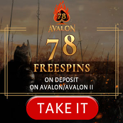 Avalon78 Free spins