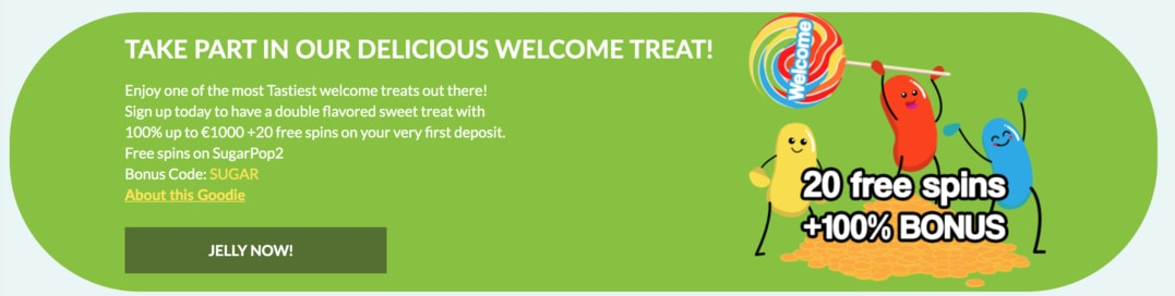 Bonus on the first deposit
