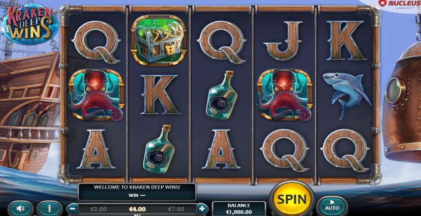 Kraken Deep Wins (Nucleus Gaming)