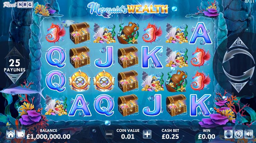 Mermaid's Wealth (ReelNRG)