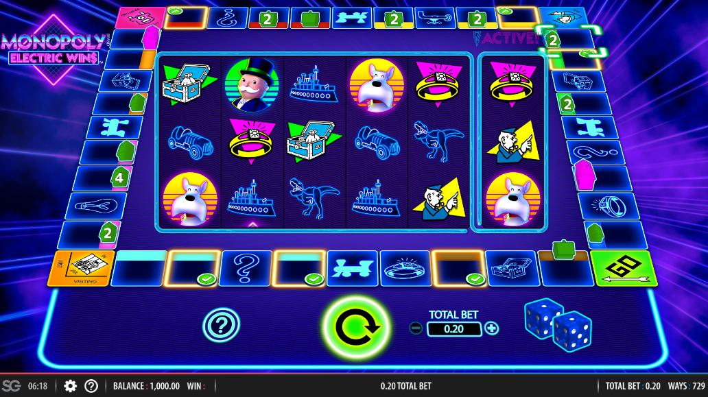 Monopoly Electric Wins (WMS)