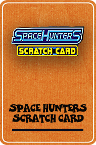 Space Hunters Scratch Card (PlayPearls)